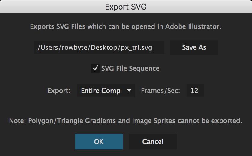 Plexus 3 SVG Sequences