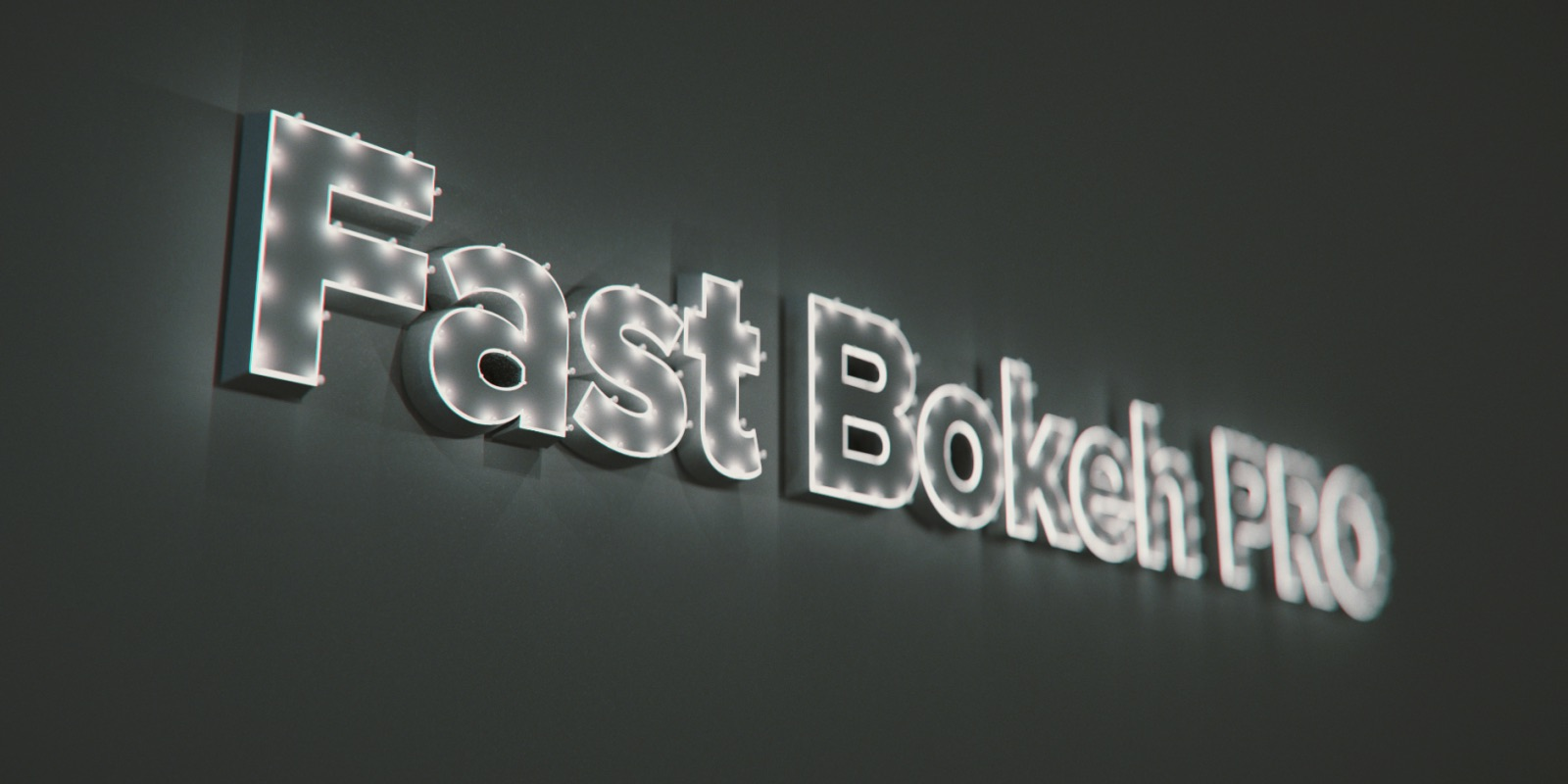 Fast Bokeh for After Effects